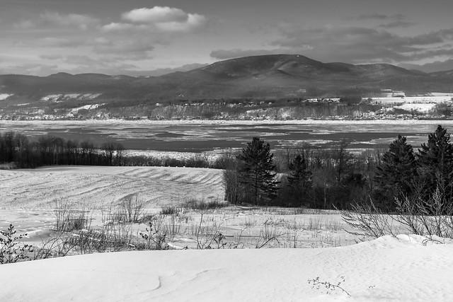 Winter in Orleans Island, Quebec, Canada
