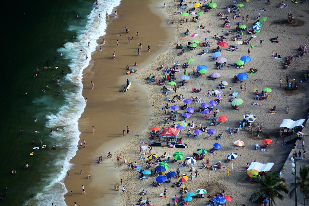 Praia Vermelha Detail