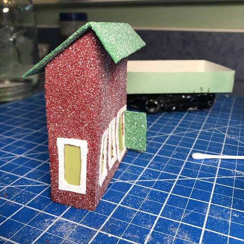how to make a putz house | by christmasnotebook
