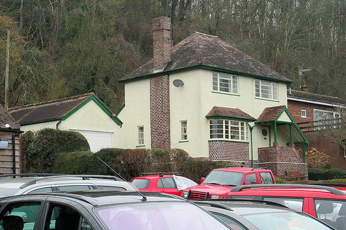 Art Deco Style House, Pant, Shropshire   by jackdeightonsf