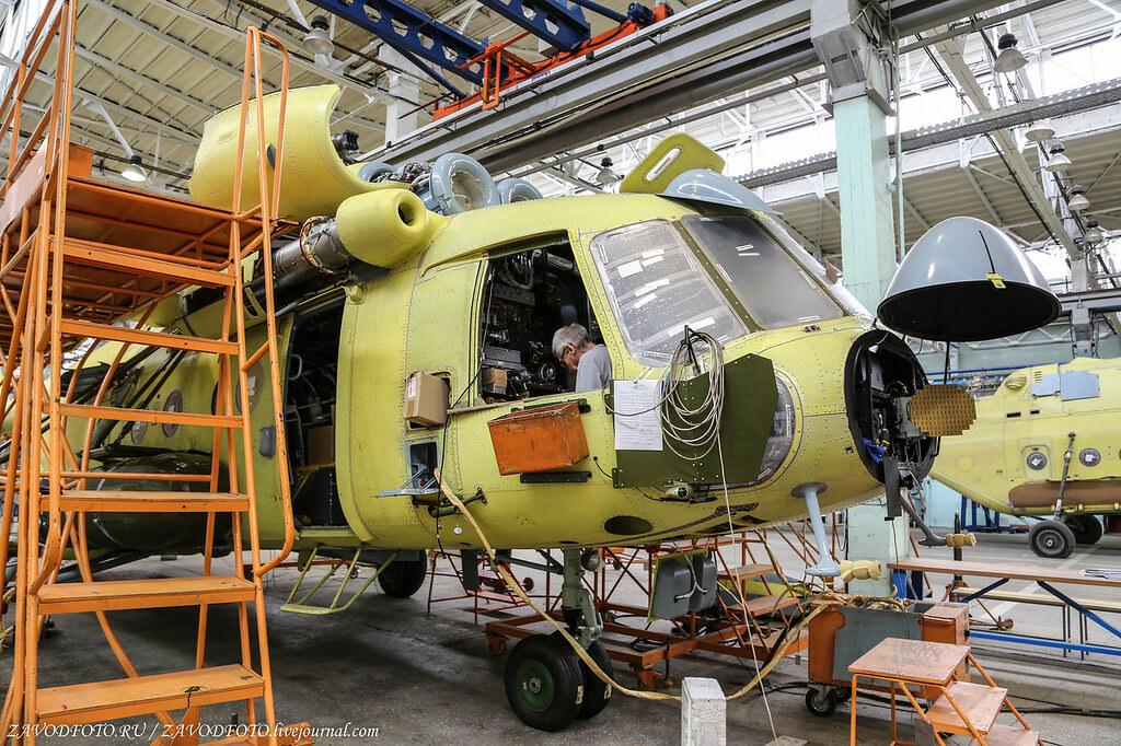 На один вертолётный завод в стране станет меньше