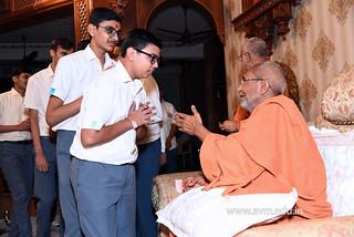 Std-10-11-12-visit-to-Haridham-for-Swamishree's-Blessings-(66) | by Atmiya Vidya Mandir