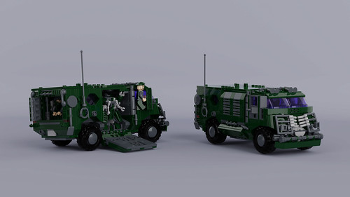 Armoured Drone Transporter