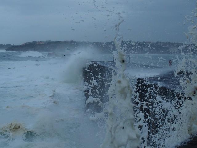 ma premiere douche de mer cette année !