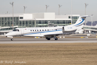 YU-SRB Embraer ERJ-135BJ Legacy 600 Republic of Serbia Munich airport EDDM 17.02-19 | by rjonsen