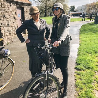 Photos from Saturday's Tweed Ride. The weather was lovely!