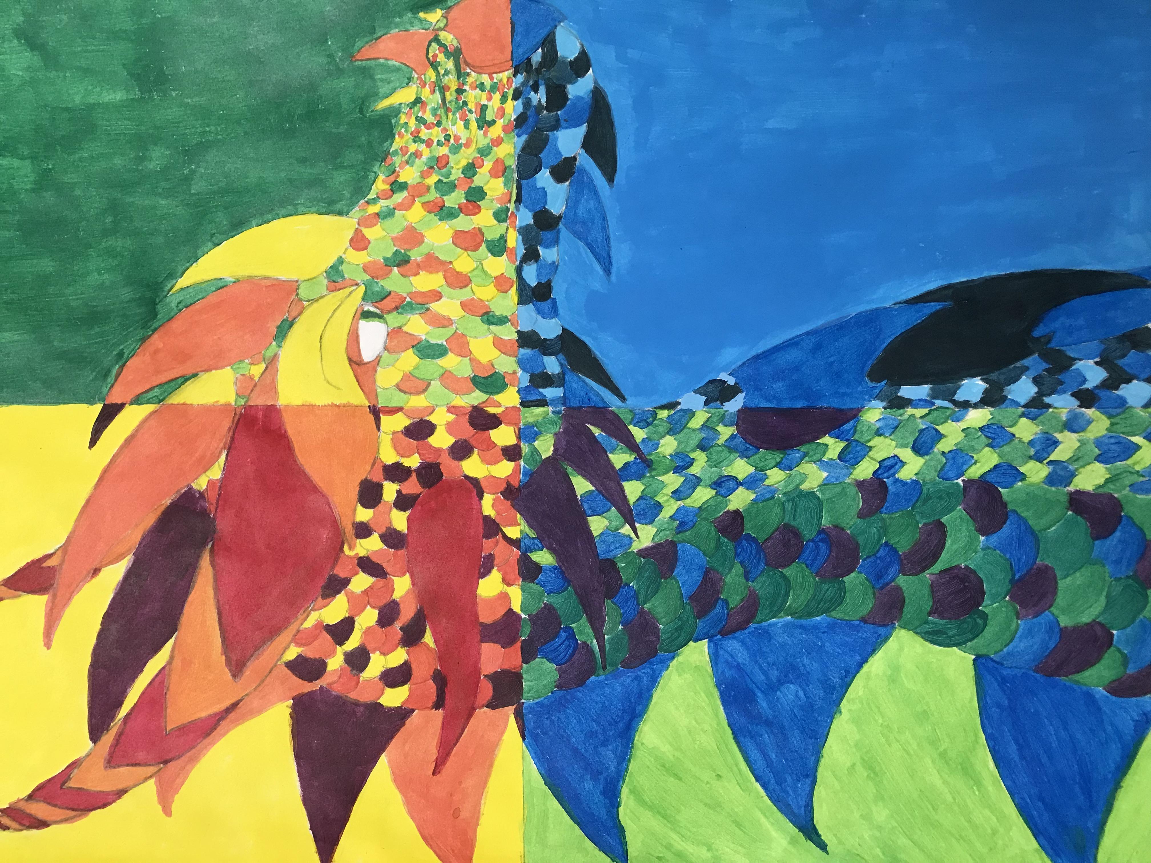 Art 1 Color Scheme
