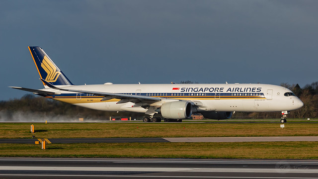 9V-SMO | Singapore Airlines | Airbus A350-900