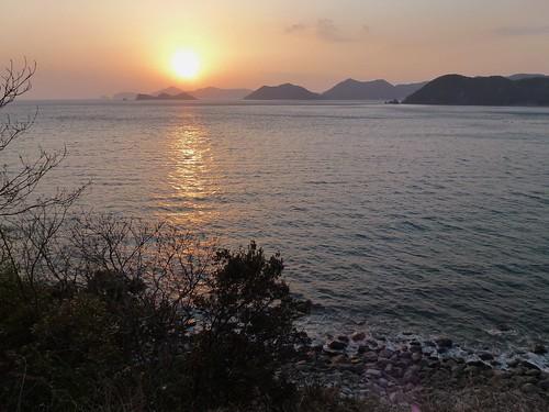 coastal sunset 愛南町 愛媛県 japan ehime ainan