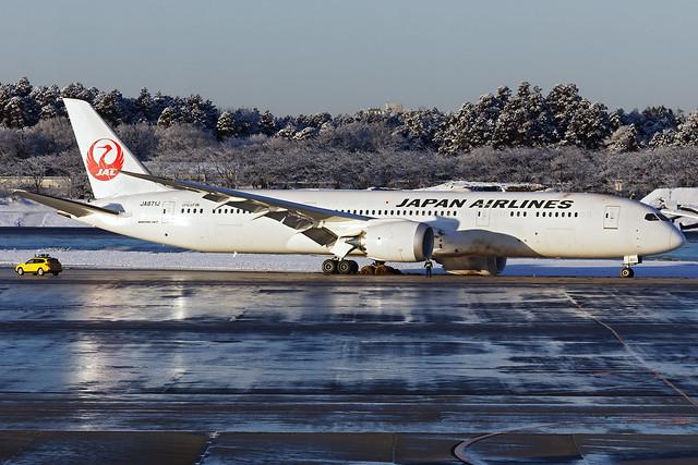 JA871J - Boeing 787-9 - Japan Airlines - RJAA (NRT) - Feb 2019