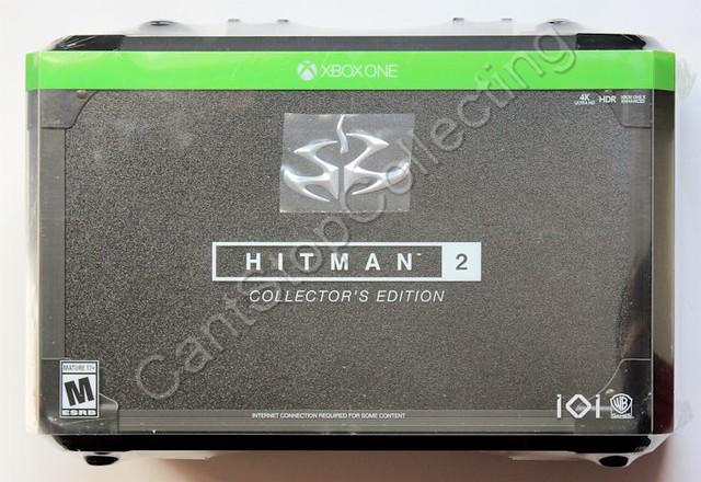 hitman 2 collectors edition xbox one
