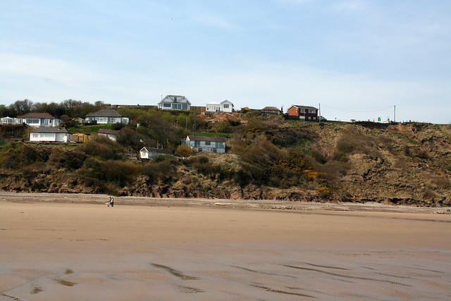 The beach at Hunmanby