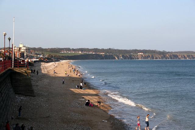 The beach at Bridlington