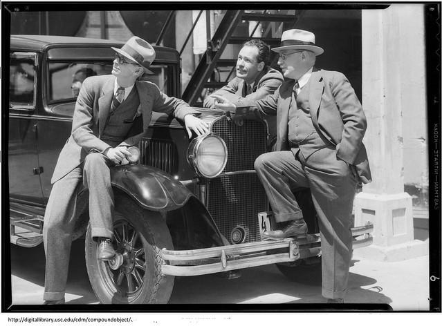 Company Executives in 1932