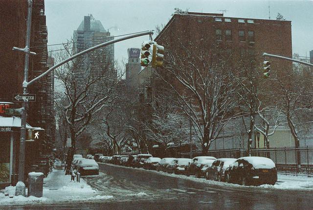 New York on expired film