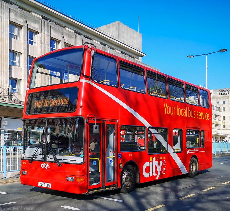 Plymouth Citybus 434 X546EGK