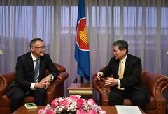 Presentation of LOC by Ambassador of Finland, H.E. Jari Sinkari