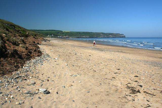 Sandsend Beach, North Yorkshire