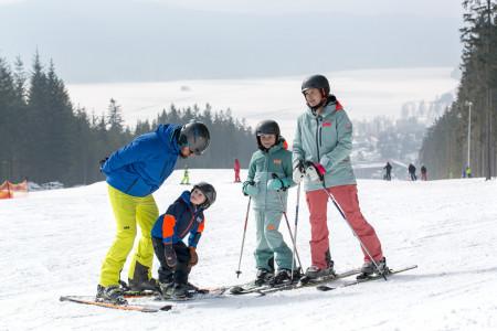 Skiareál Lipno: zimní ráj pro rodiny s dětmi