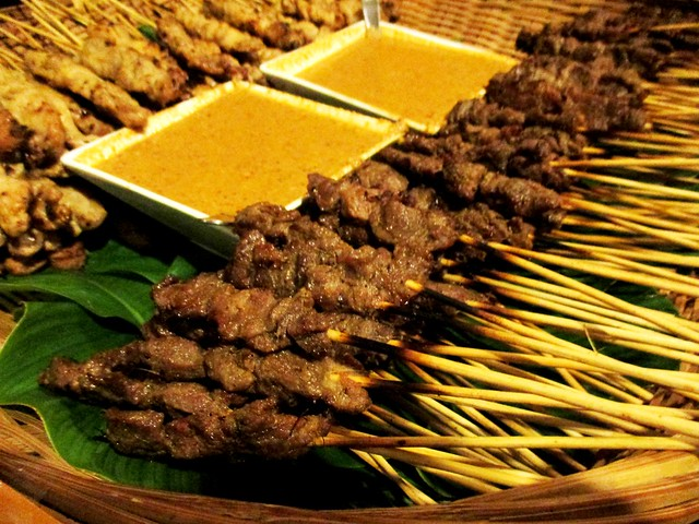 Payung Cafe satay