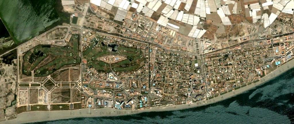 las marinas, roquetas de mar, almería, las andreas, antes, urbanismo, planeamiento, urbano, desastre, urbanístico, construcción
