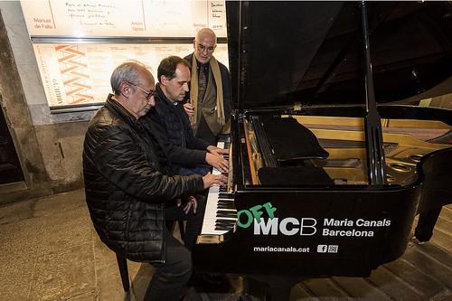 D'esquerra a dreta: Jordi Casassas, Jordi Vivancos i Joan-Artur Roura i Comas. | by Ateneu Barcelonès