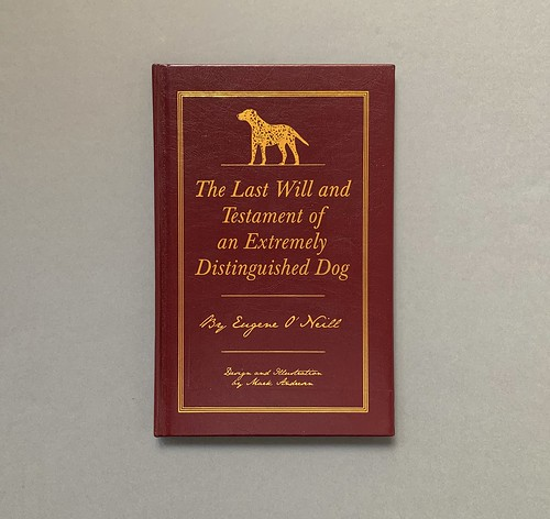 Cover_The Last Will and Testament of an Extremely Distinguished Dog, Ginko Press, Eugene O'Neill