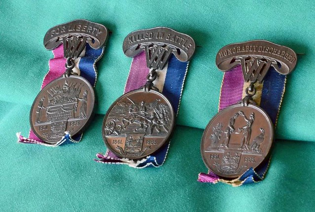 West Virginia Civil War soldier medals