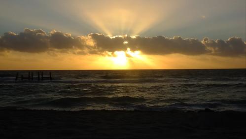 Sonnenaufgang bei Playa del Carmen