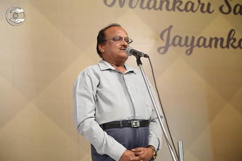 Dr. Krishna Swami from Jayamkondan, expresses his views