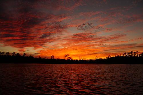 sunset spectacularsunsetsandsunrises cloudsstormssunsetssunrises clouds northcarolina northwestcreek sony sonyphotographing sonya58 creek cravencounty