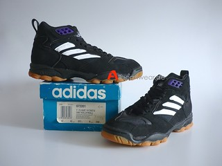 UNWORN VINTAGE ADIDAS TORSION FLAME WOMEN VOLLEYBALL SPORT SHOES / HI TOPS | by aucwd