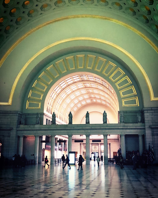 Morning Light at Union Station