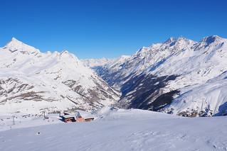Descending by cable car to Zermatt, Switzerland   by BuzzTrips