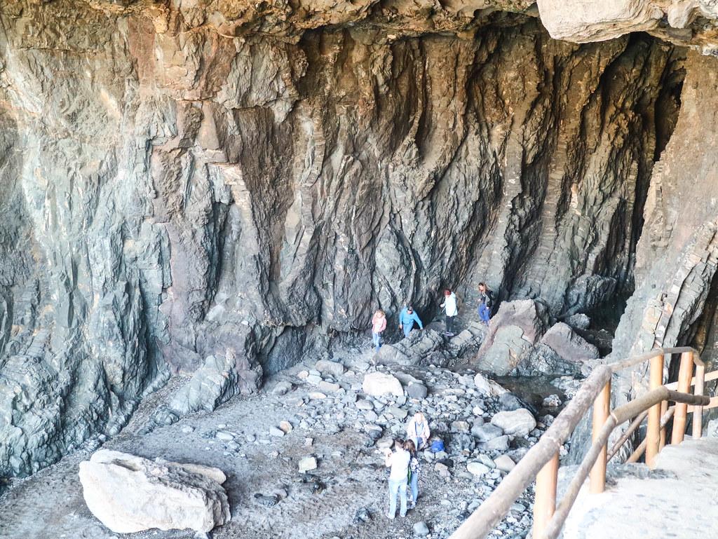 Fondo de la cueva