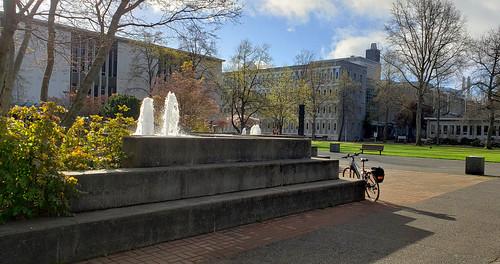 University of Victoria fountain
