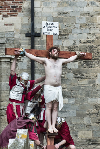 Crucifixion Scene in Hedon. | by Ray Duffill