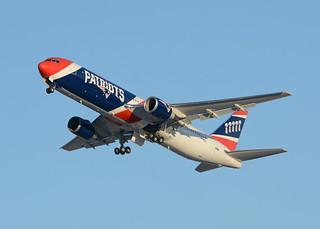New England Patriots Boeing 767 N36NE