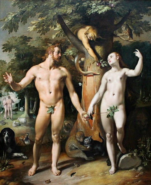 Cornelis van Haarlem. The Fall of Man. 1592
