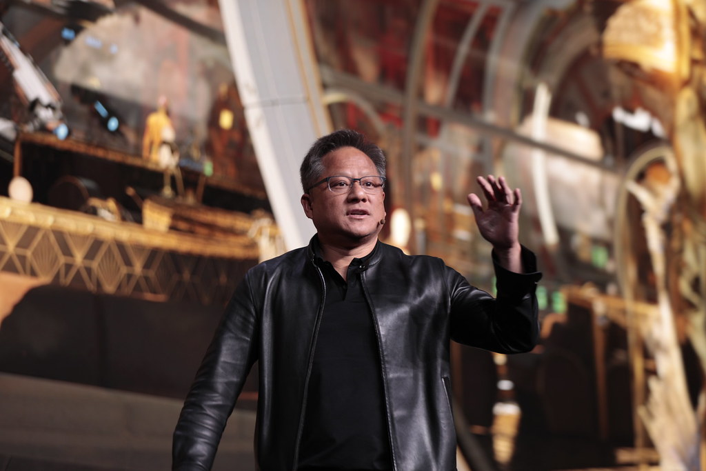 NVIDIA CEO Jensen Huang | NVIDIA Corporation | Flickr