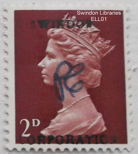 1960s: Swindon Corporation  - 2d Duty Stamp | by Local Studies, Swindon Central Library