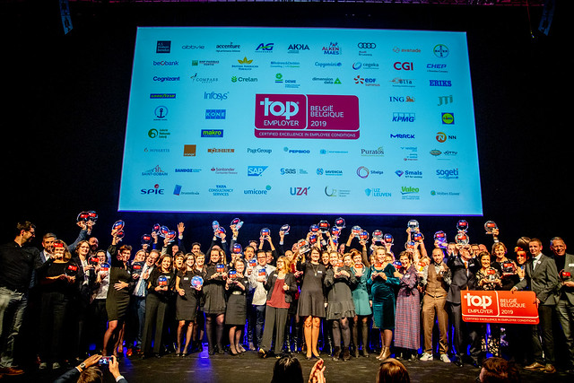 Top Employers Belgium 2019