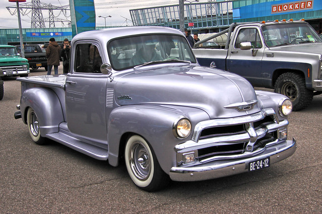 Chevrolet 3100 Pick-Up Truck 1954 (1012)