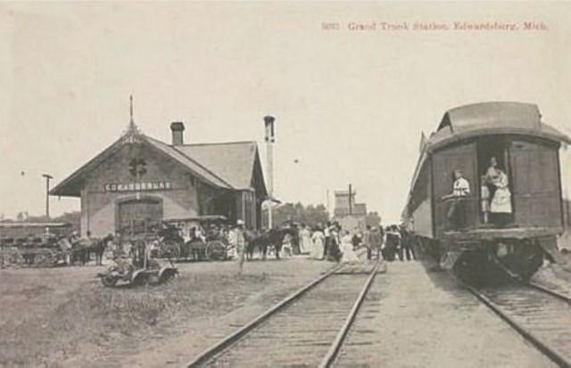 Depot At Edwardsburg