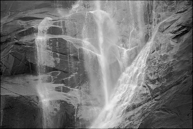 Monochrome Waterfall