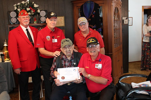 2019 02 03 Proud Marine 104 Years Old (4) | by Marine Corps League of South Lake Florida
