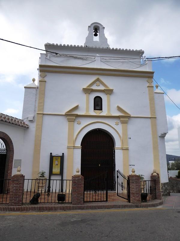 Cómpeta (Málaga-España). Ermita de San Sebastián