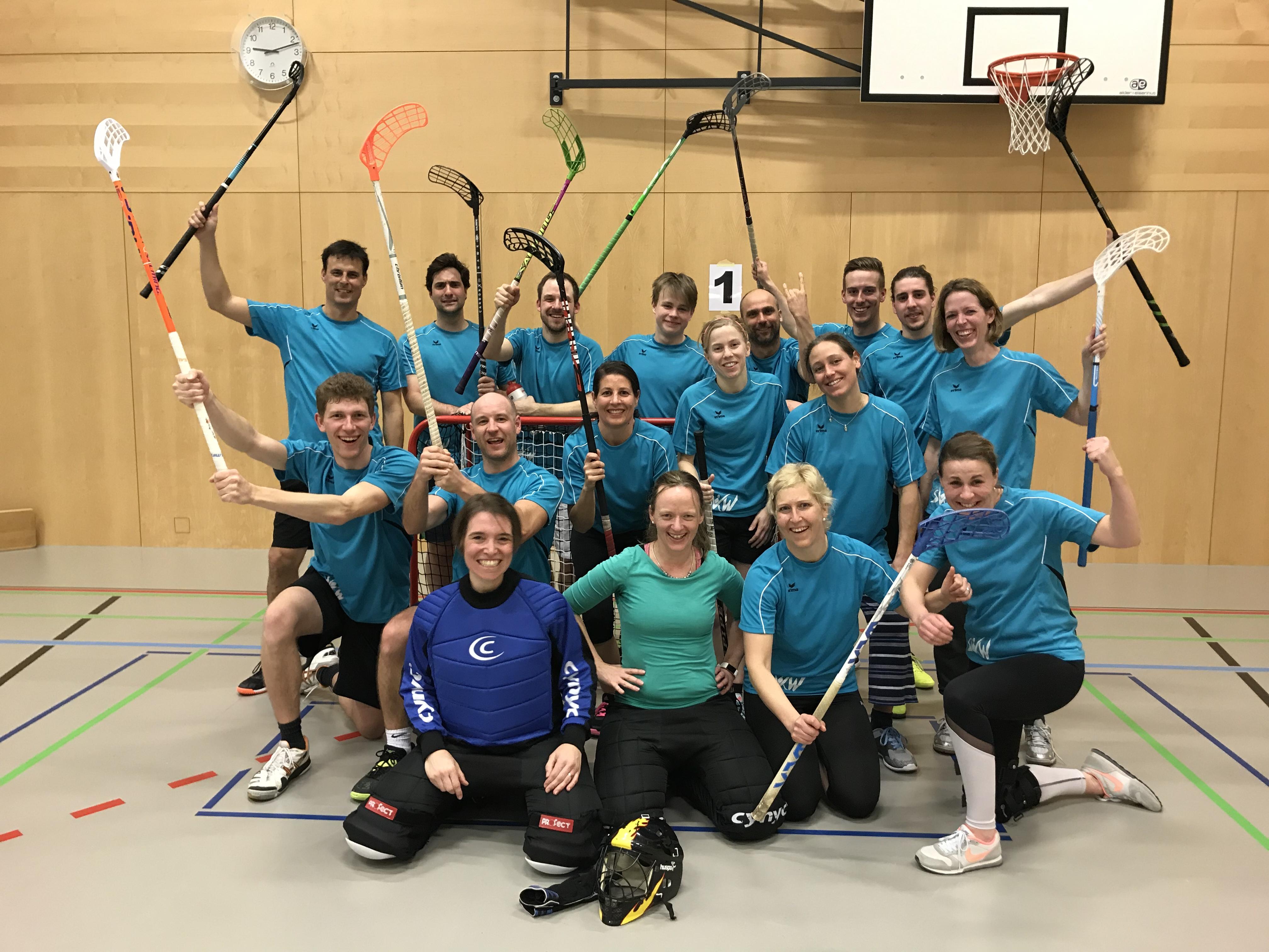 Kreisunihockeyturnier Mixed Aktive (Niederrohrdorf)