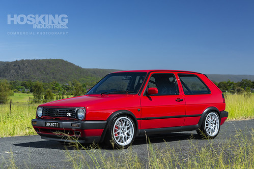 Leigh Parker's 1988 Volkswagen Mk2 GTI Golf | by HoskingIndustries