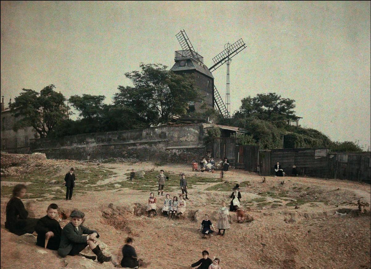 Ветряная мельница «Мулен де ла Галетт», Монмартр